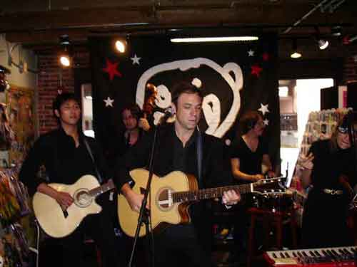 The Airborne Toxic Event, Newbury Comics In-store