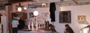 Ann Hirsch's studio