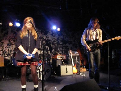 Brette Way and Sam Fowles of The Parson Red Heads