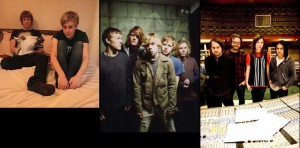 An Horse, photo by Nadia Mizner; Cage The Elephant, photo by Danny Clinch; Silversun Pickups, photo by Timothy Norris
