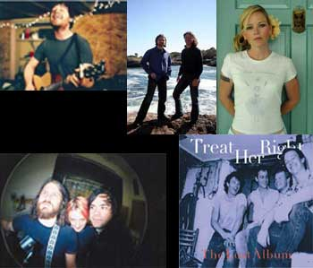 boy without god (a.k.a. Gabriel Birnbaum), Ice Cream Social, Kay Hanley, Ketman, and the original lineup of Treat Her Right.