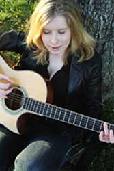 Kellie Lin Knott performs on Thurs night as part of the CNC Indie Music Marathon
