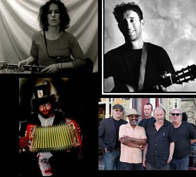 Some of this coming week's festivities... Monique Ortiz (who's about to desert us?), Jonathan Richman, Walter Sickert (& his Army Of Broken Toys), and the Family Jewels