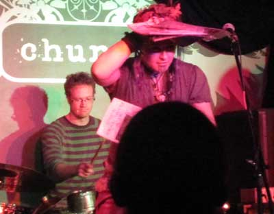 Holly's traditional comic book recycling.