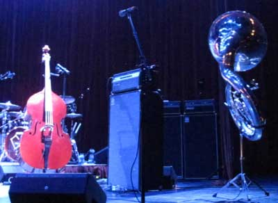 The stage is set for DeVotchKa.