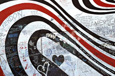 Elliott Smith Memorial Wall at Solutions Audio-Video Repair on Sunset Blvd. (used for the cover of Figure 8).