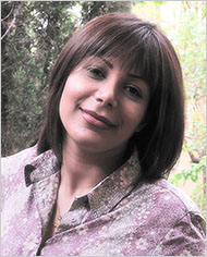 Neda Agha-Soltan, who was shot by a member of the Iranian Basij militia during a peaceful demonstration, June 20, 2009. Photo taken by her fiancé Caspian Makan, May 2009.