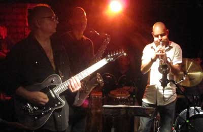 Club D'Elf - Reeves Gabrels, Tom Hall, and Yaure Muniz.