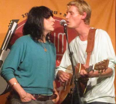 Angela Correa and Tom Brosseau of Les Shelleys
