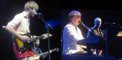 Lawrence Arabia, Neil Finn and Nick Seymour of Crowded House