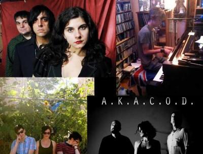 Performing this week: Black Fortress Of Opium (photo by Derek Kouyoumjian), Tristan Allen, Girlfriends, and A.K.A.C.O.D.