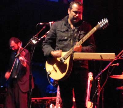 DeVotchKa performing at the House of Blues last April.