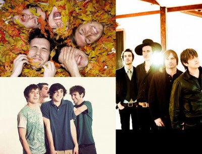 (clockwise from top left): Grouplove, You Am I, Young Man