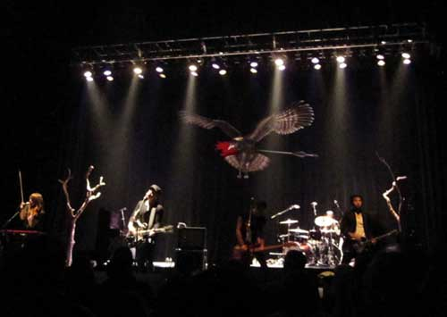 The Airborne Toxic Event at the Orpheum Theatre, Boston