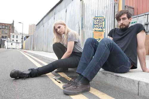 Rebecca Taylor and Charles Watson of Slow Club