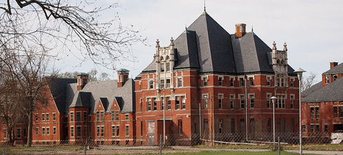 "One of Connecticut's mental health facility closures, back in 1996, the oft-maligned <a href=""http://en.wikipedia.org/wiki/Norwich_Hospital_District"">Norwich State Hospital</a> (to which I say ""good riddance""). But what now?"