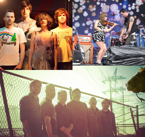 A few bands with new albums out this year: The Happy Hollows, The Airborne Toxic Event (Anna & Noah at Osheaga) and Radar Bros.