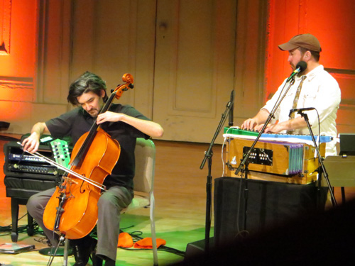 A last minute addition: The Magnetic Fields at Symphony Hall for First Night (last night)
