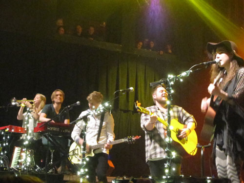Of Monsters and Men at the House of Blues, Boston