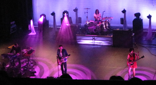 Silversun Pickups at the Orpheum with Sarah Negahdari on bass