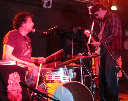 Hamish and David Kilgour of The Clean at Brighton Music Hall