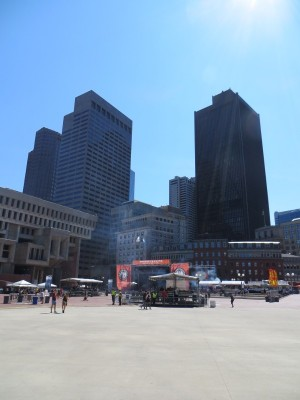 Boston Calling, City Hall Plaza, at high noon.