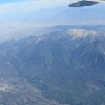 30 minutes before landing in Los Angeles