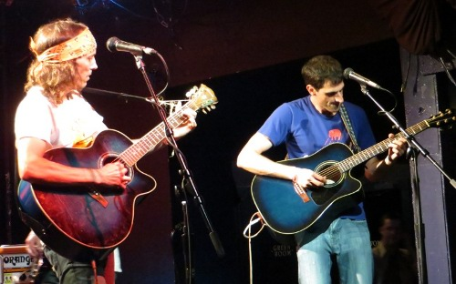 Ryan Fuller and Rob Danson of Fort King, at The Echo