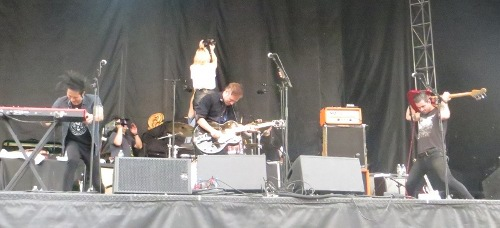 The last time I saw Airborne, they were tearing it up during an incendiary 45-minute set at Boston Calling.