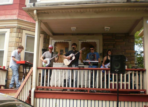 Found Audio, presumably from Porchfest, which they'll be playing again next month in Somerville.