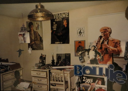 The Bowie Room, back in the day.