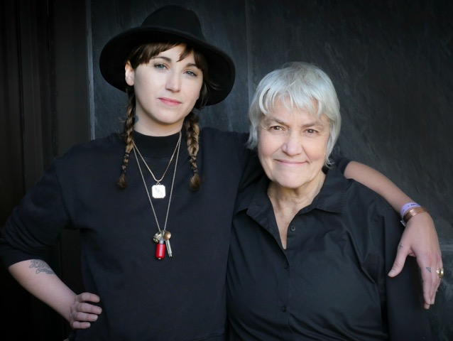 Holly Miranda and Cris Williamson ~ photo by Irene Young