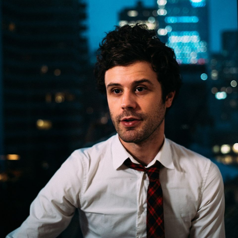 Michael Angelakos of Passion Pit; photo by Jean Claude B